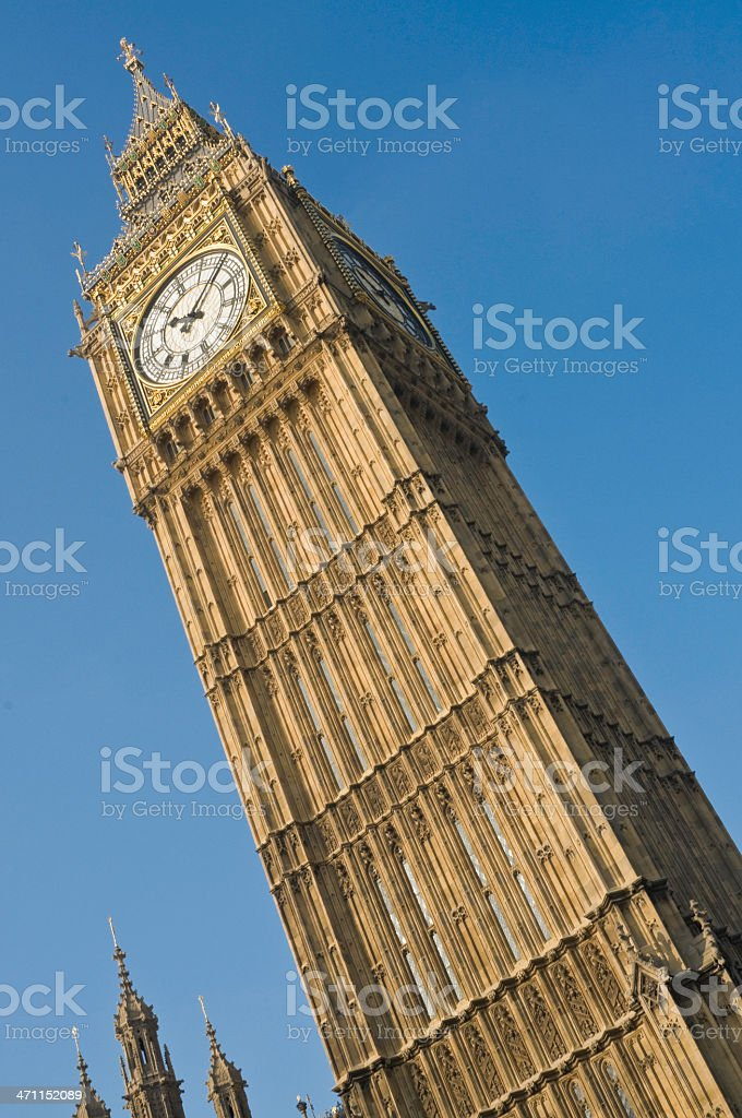 Big Ben funky angle London royalty-free stock photo