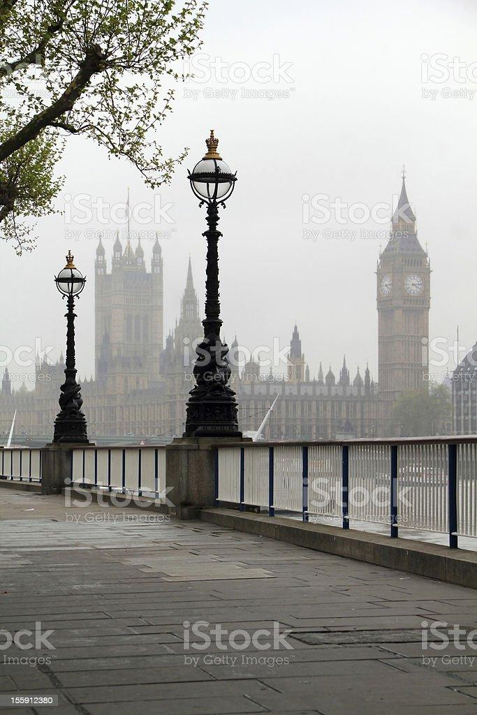 Big Ben & Houses of Parliament stock photo