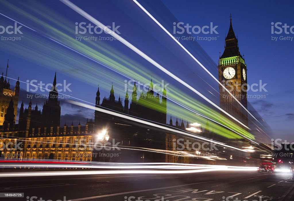 Big Ben in London, England stock photo