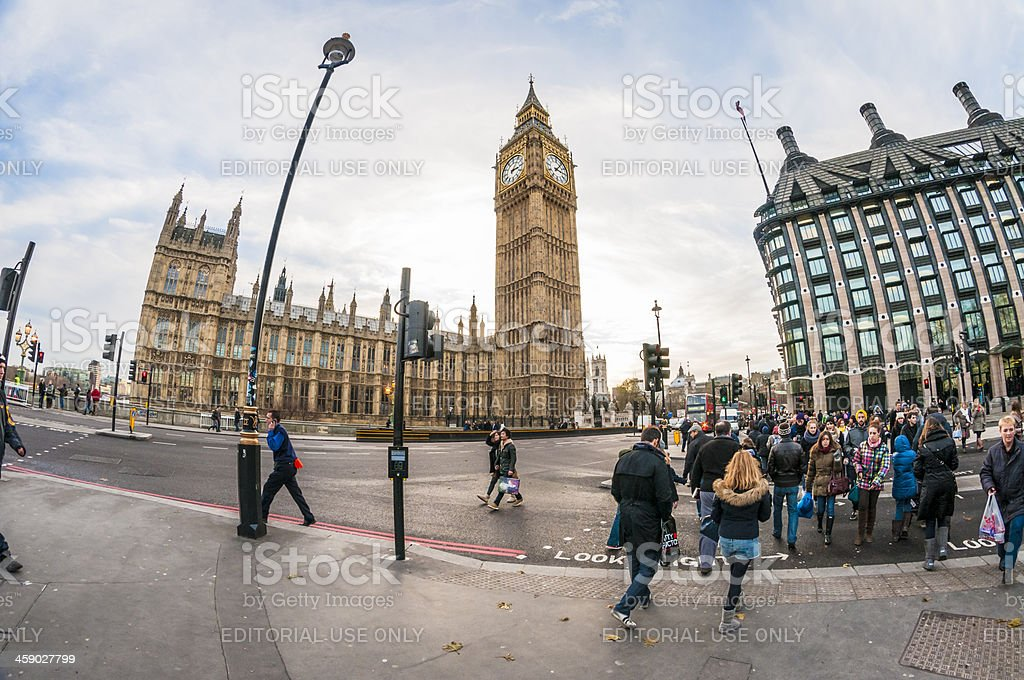 Big Ben In London, England royalty-free stock photo