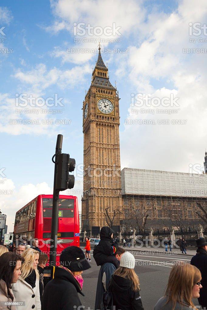 Big Ben in London royalty-free stock photo
