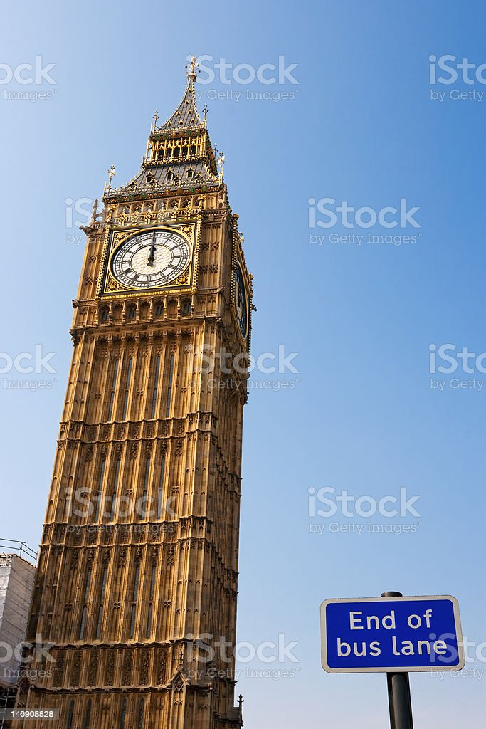 Big Ben. London. England stock photo