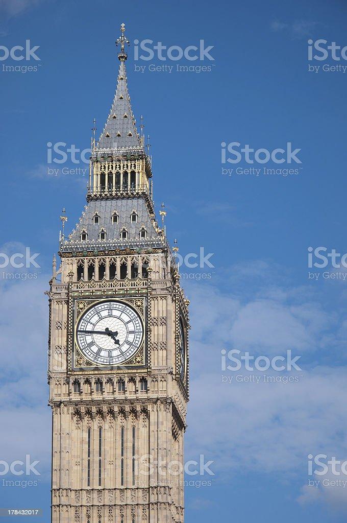 Big Ben London royalty-free stock photo