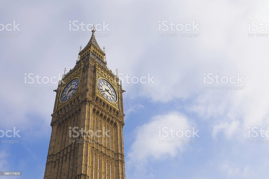Big ben, London. royalty-free stock photo