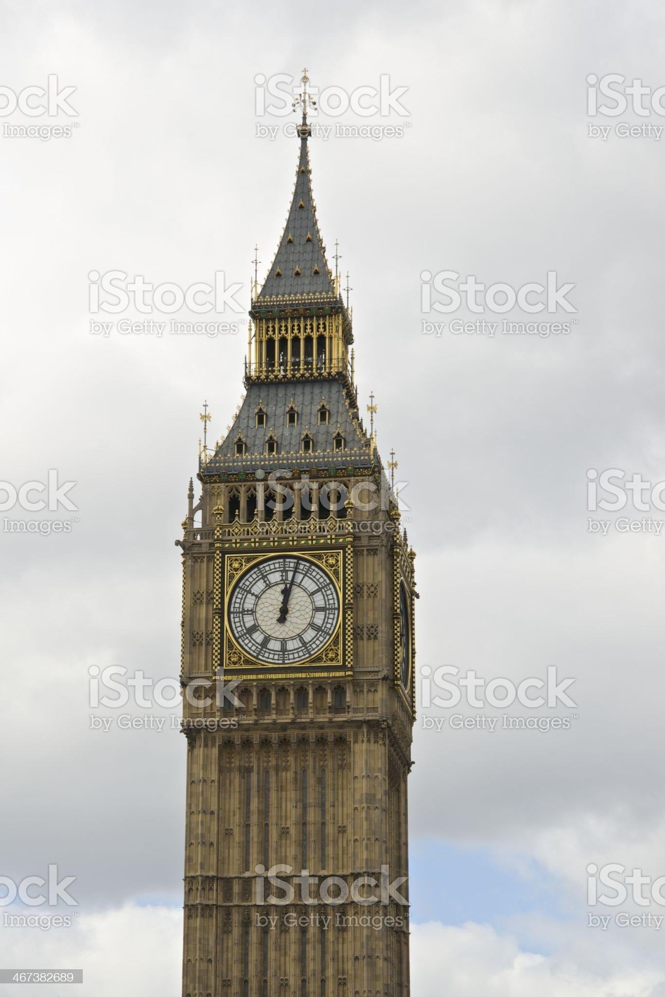 Big Ben - London royalty-free stock photo
