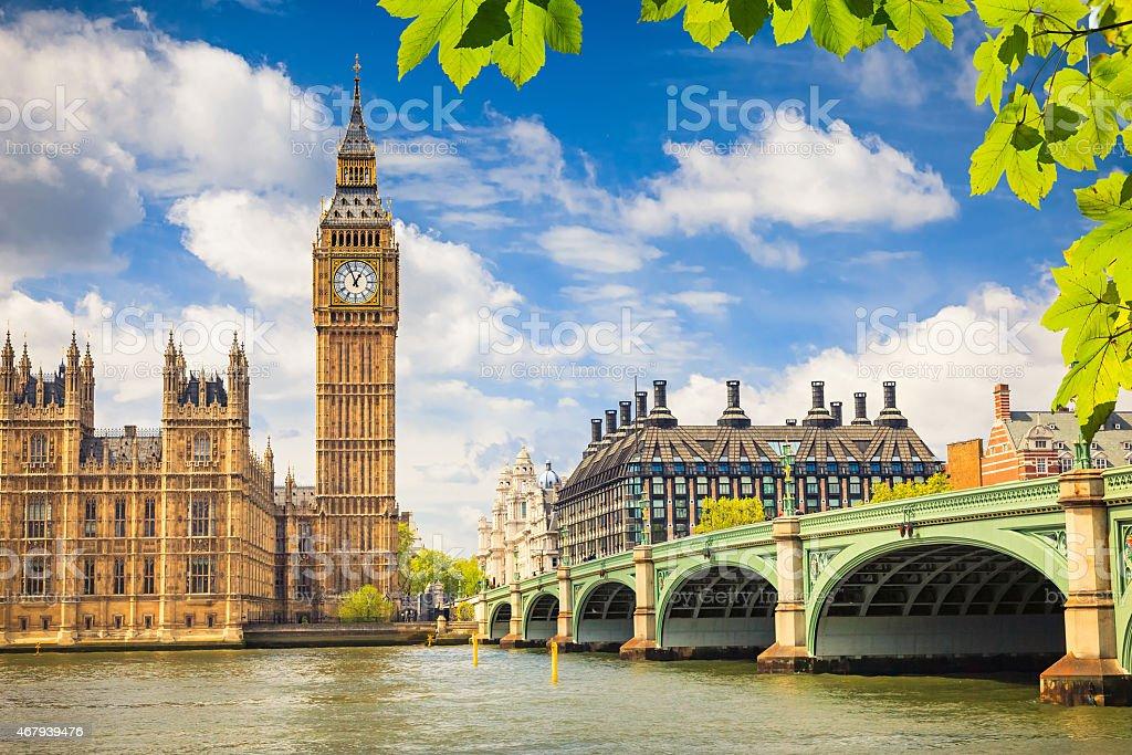 Big Ben, London stock photo
