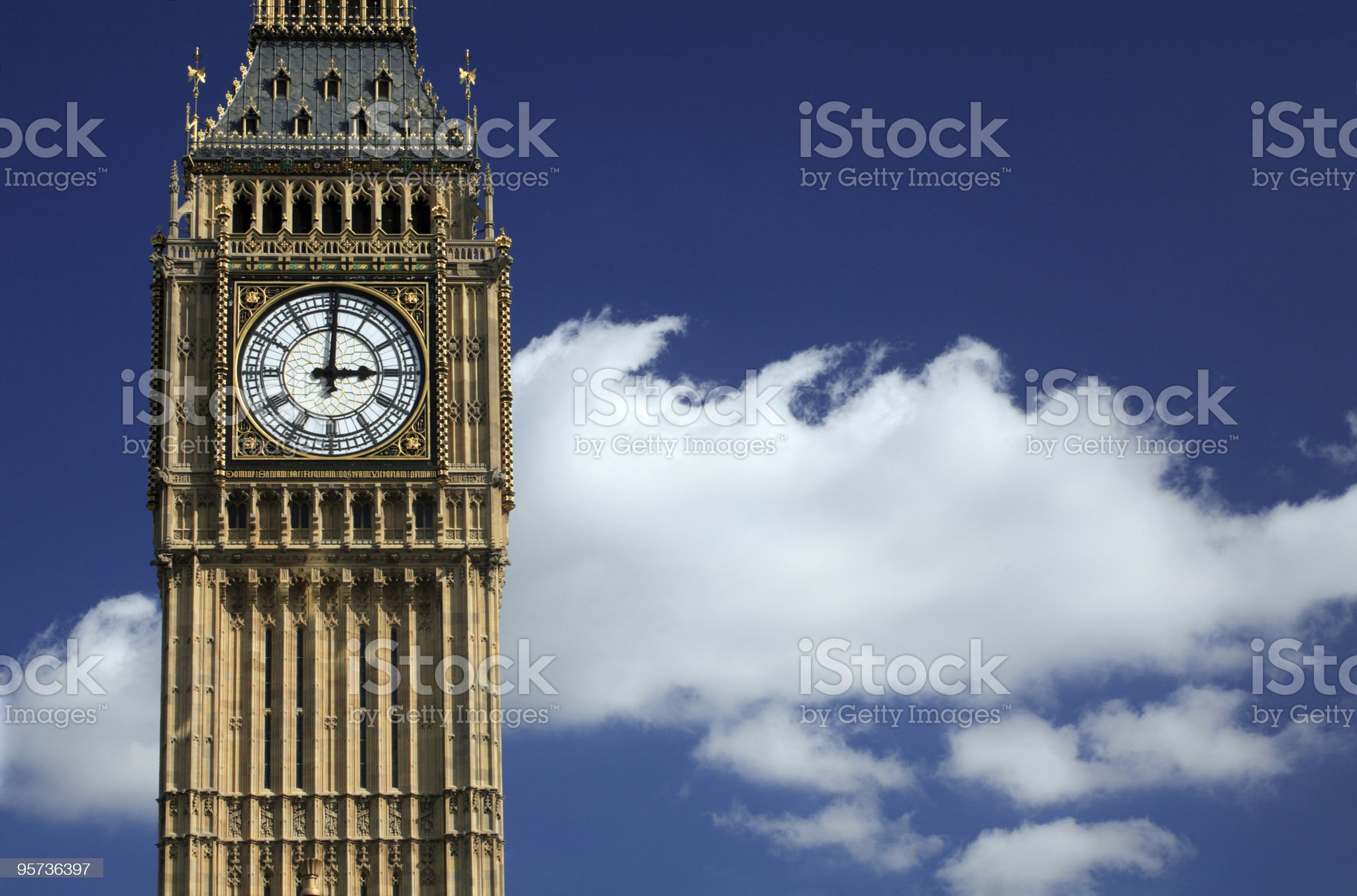 Big Ben, London royalty-free stock photo