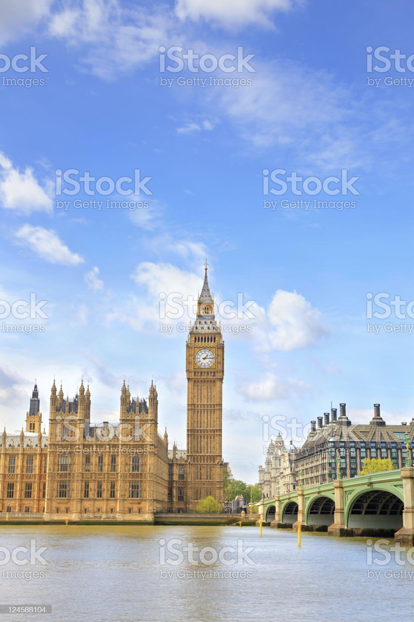 Big Ben, London, UK royalty-free stock photo