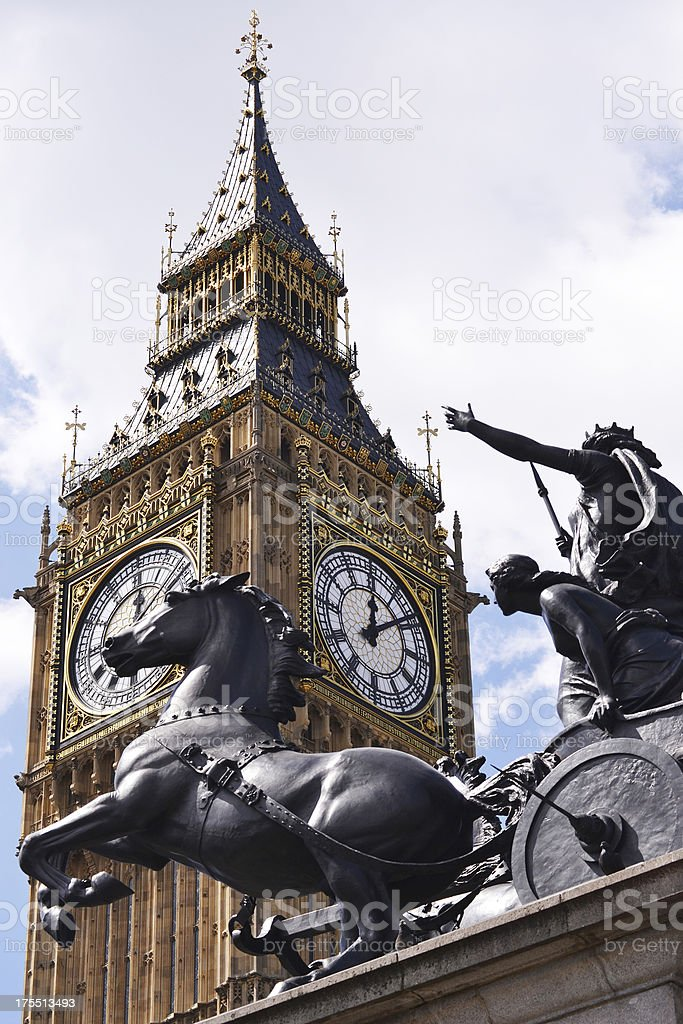 Big Ben, London, UK royalty-free stock photo