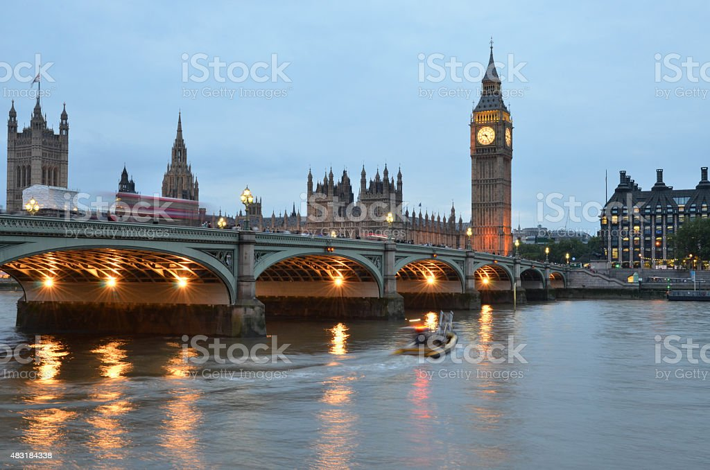 Big ben, London, UK, United Kingdom stock photo