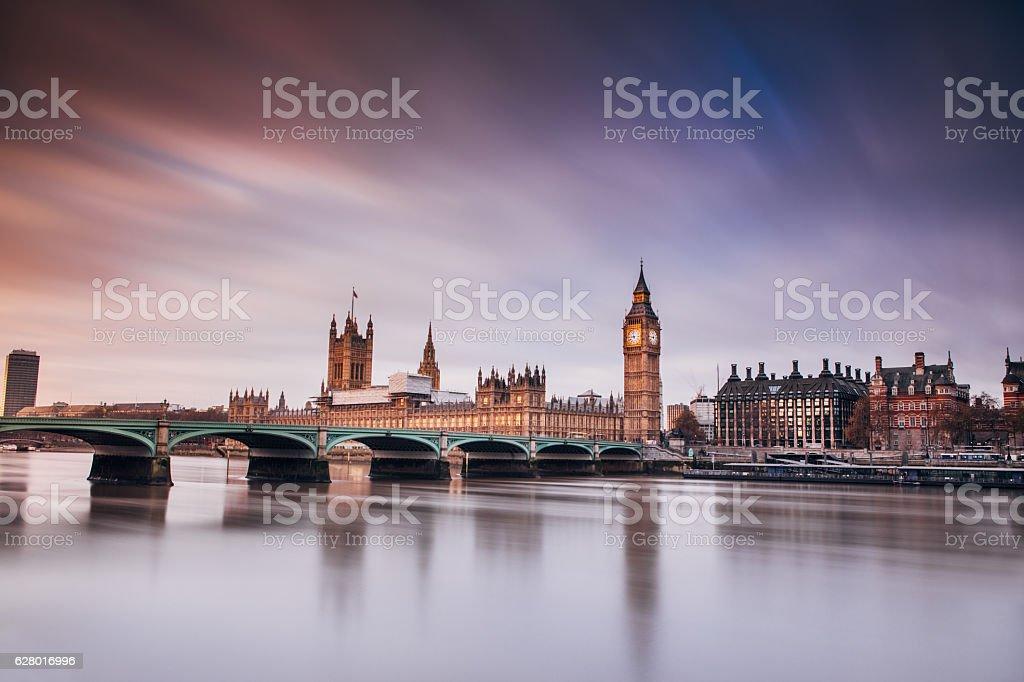 Big Ben London Westminster stock photo