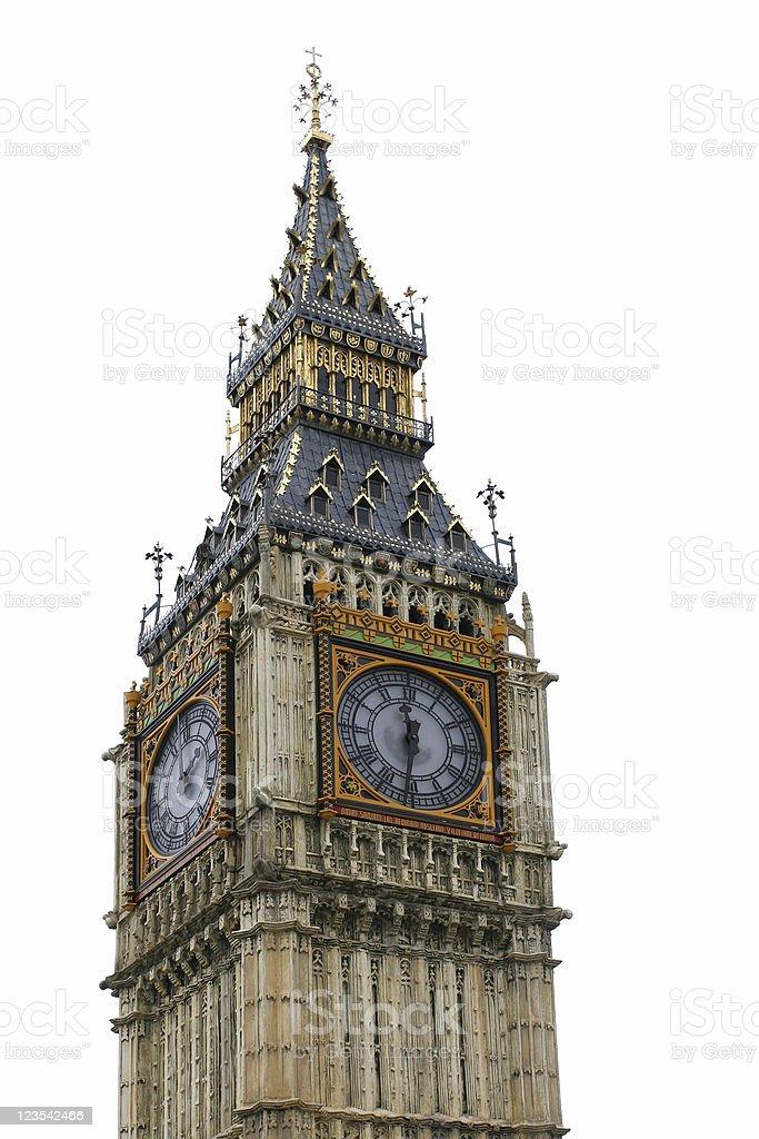 Big Ben miniature royalty-free stock photo