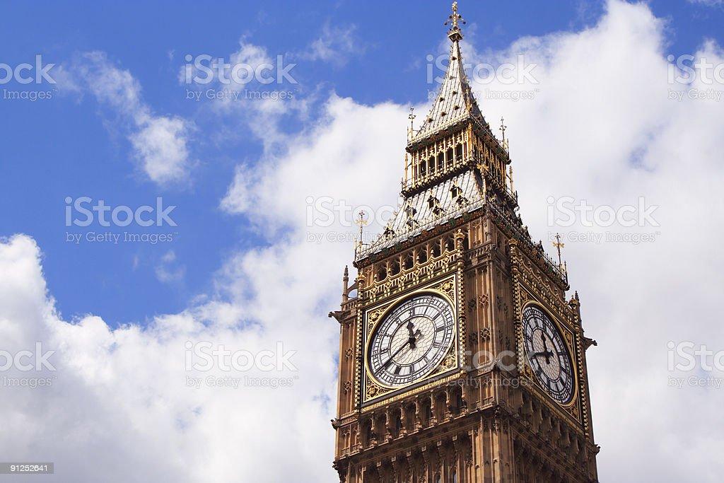Big Ben of London royalty-free stock photo