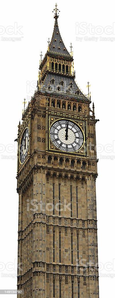 Big Ben Panorama (HighRes) - Palace of Westminster, London stock photo