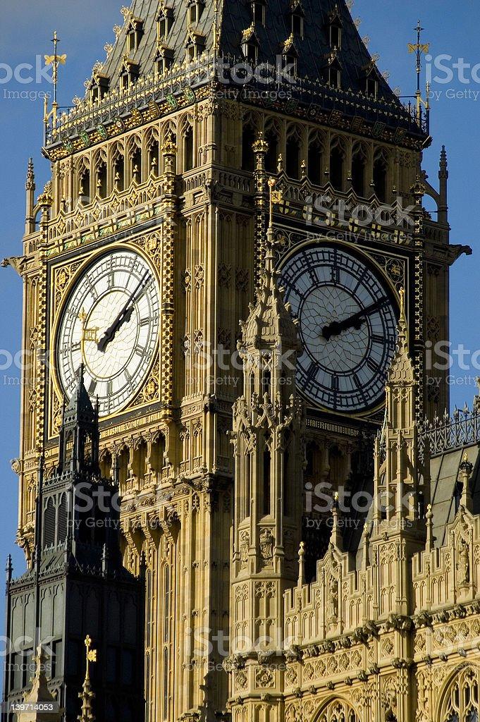 Big Ben - St. Stephen's Tower royalty-free stock photo