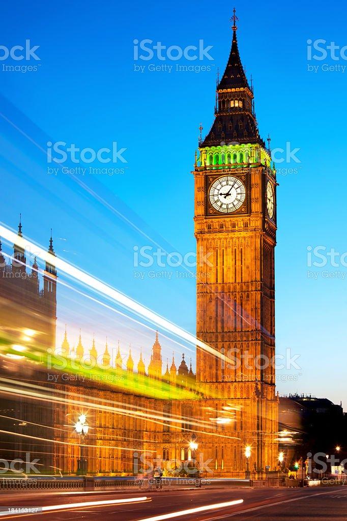 Big Ben Tower Clock royalty-free stock photo