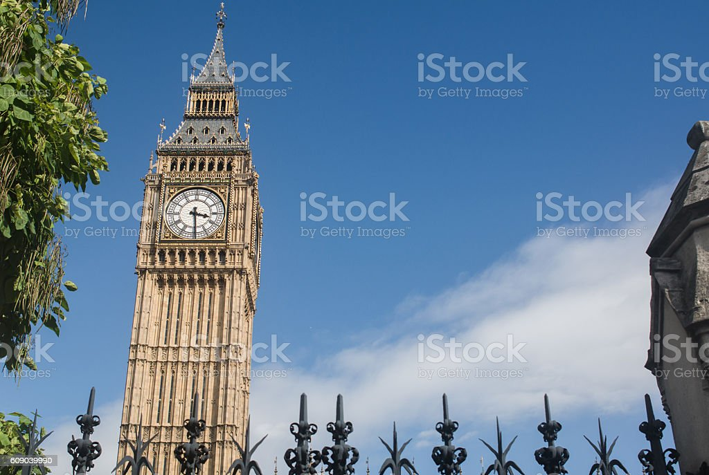 Big Ben Tower royalty-free stock photo