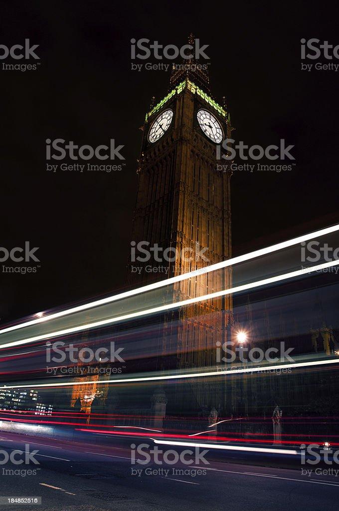 Big Ben trails royalty-free stock photo