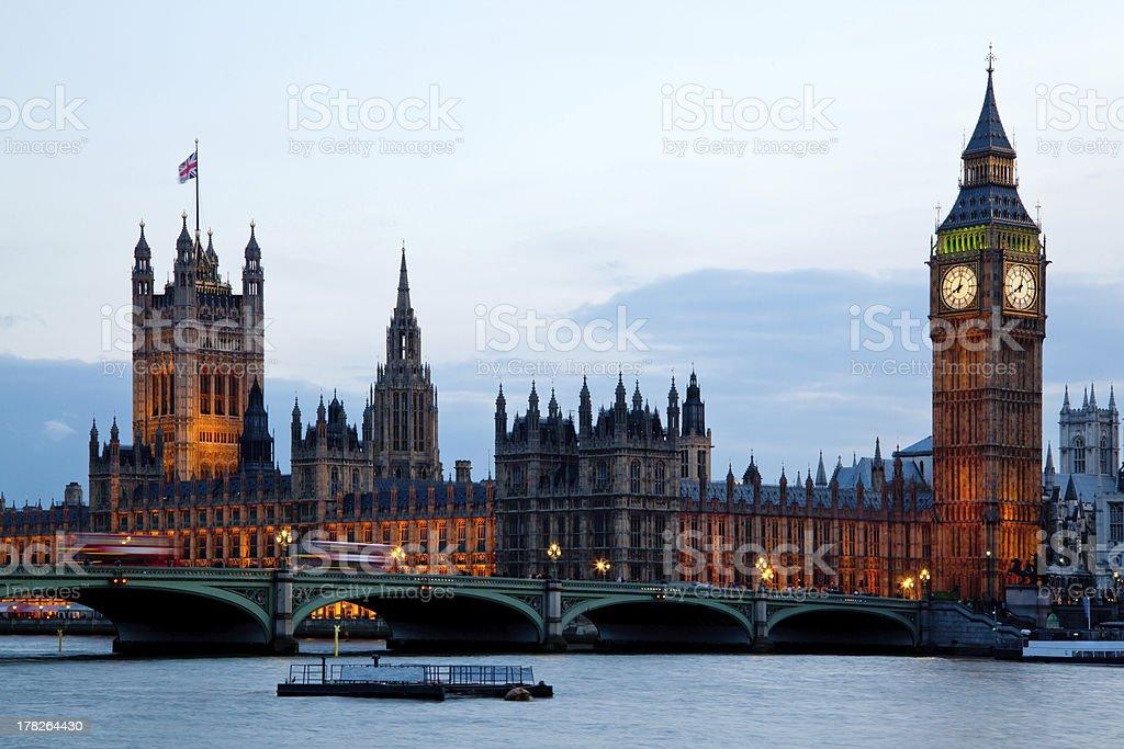 Big Ben Westminster London England royalty-free stock photo