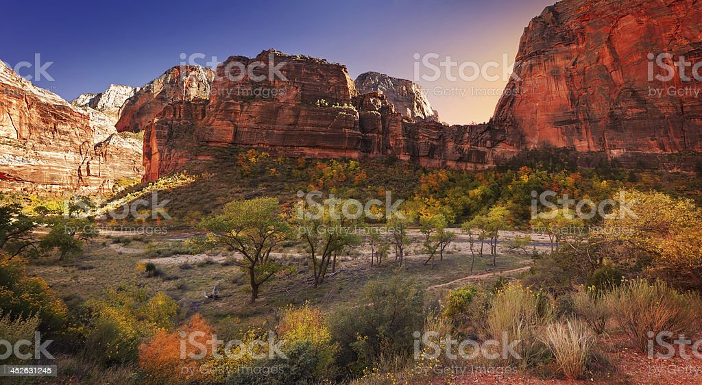 Big Bend Canyon royalty-free stock photo