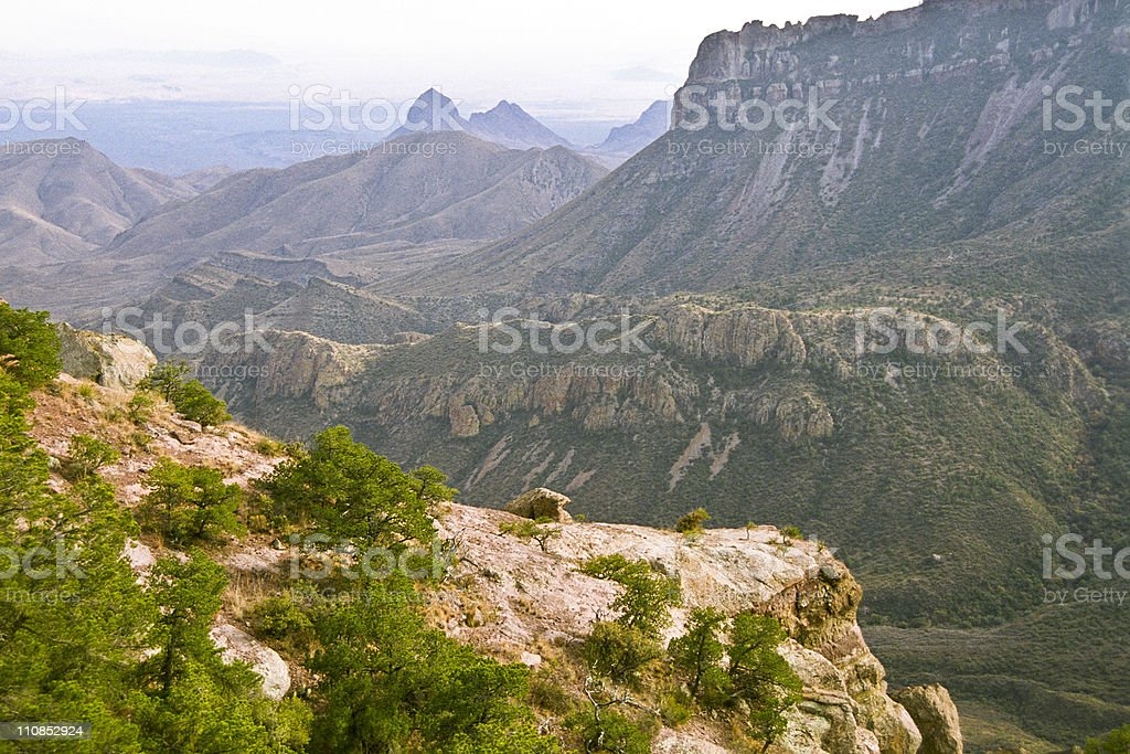 Big Bend vista royalty-free stock photo