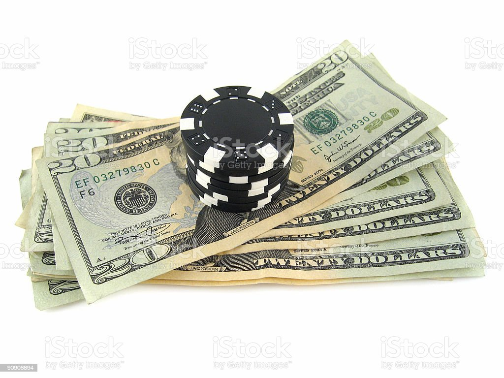 Big Bet royalty-free stock photo