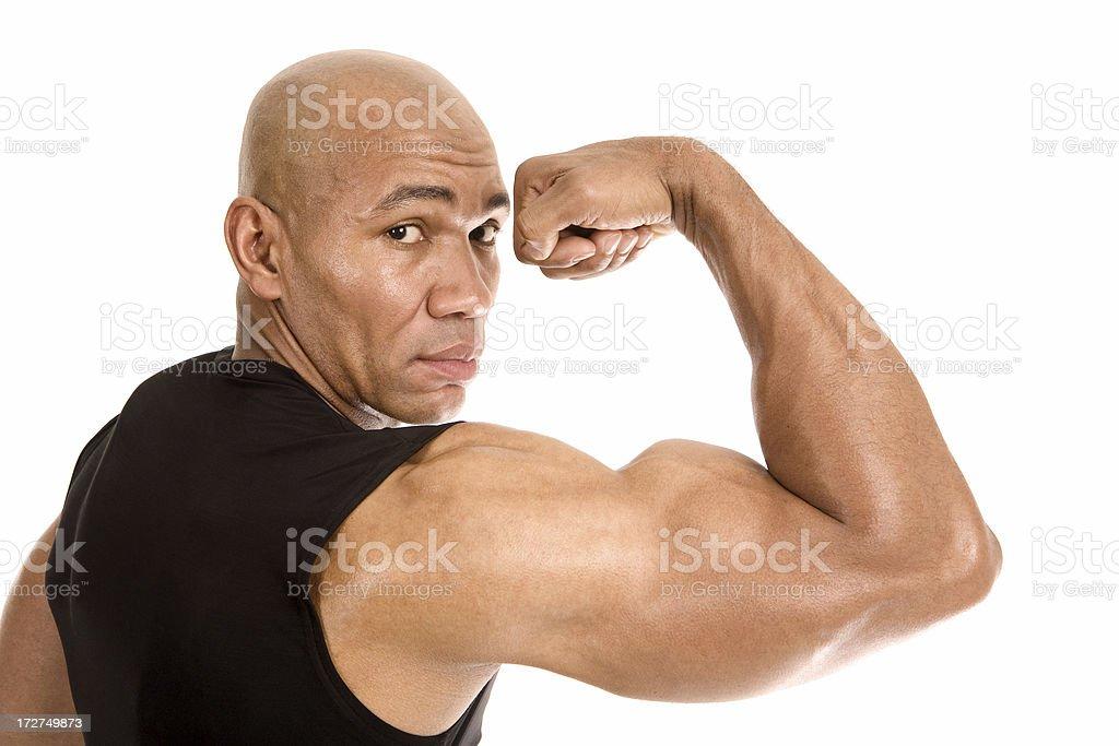 Big Biceps royalty-free stock photo