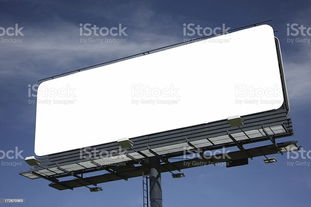 Big billboard royalty-free stock photo