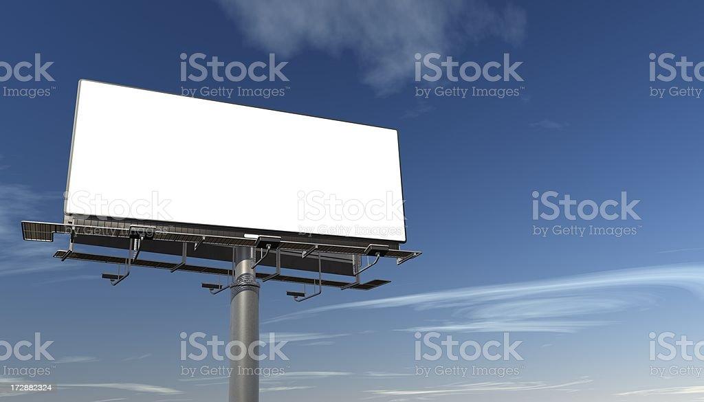 巨大ビルボード/看板 ロイヤリティフリーストックフォト
