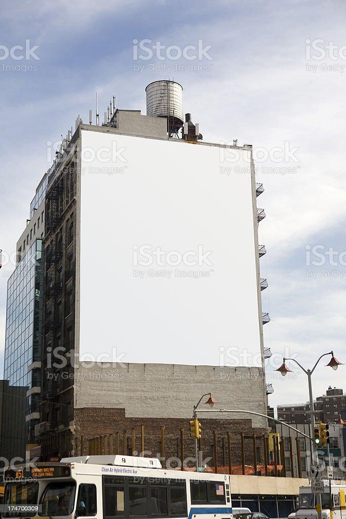 big billboard stock photo