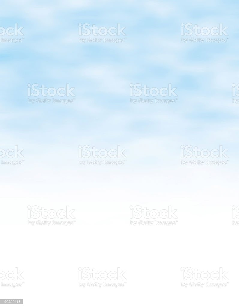 Big Blue Sky royalty-free stock photo