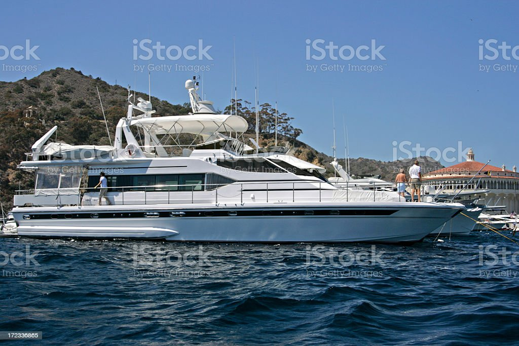 Big Boat royalty-free stock photo