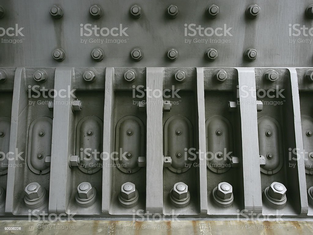 Big bolts royalty-free stock photo