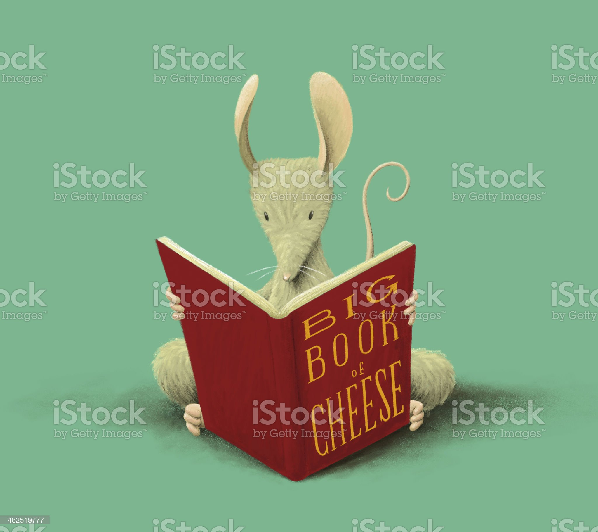 Big Book of Cheese royalty-free stock photo