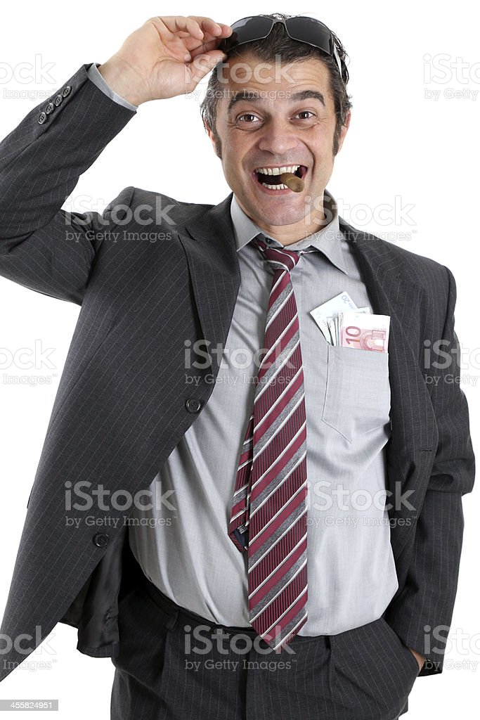 Big boss royalty-free stock photo