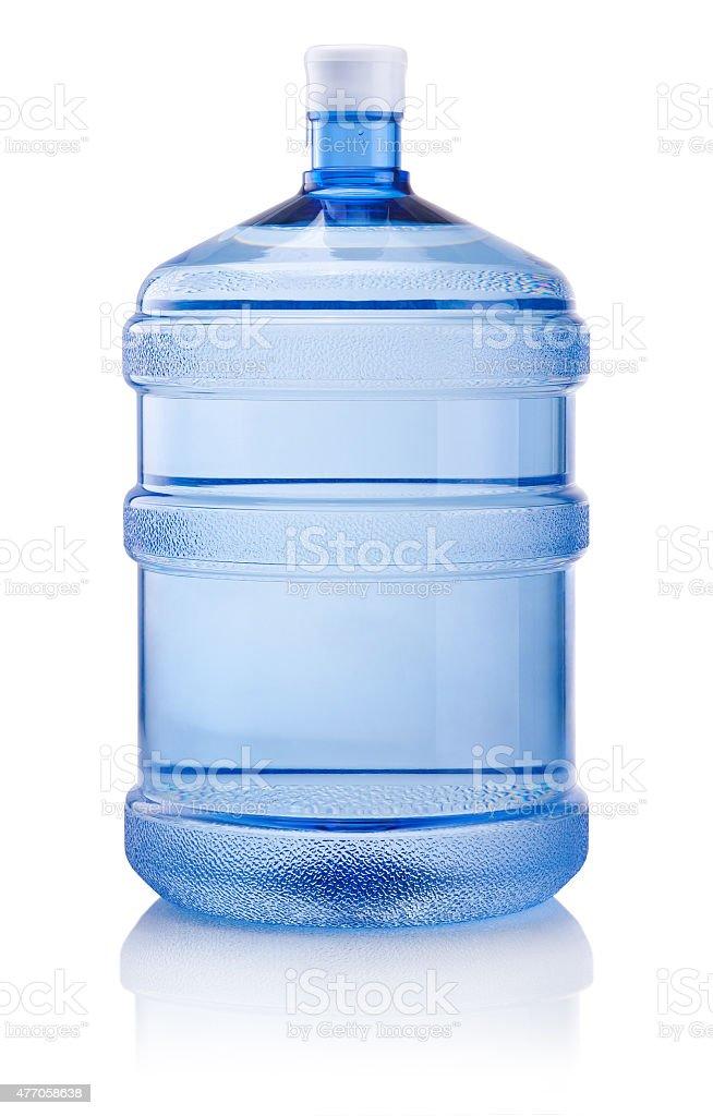 .Big bottle of water isolated on white background stock photo