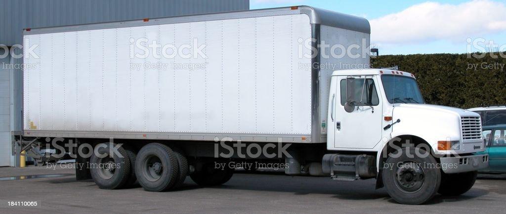 Big box truck royalty-free stock photo