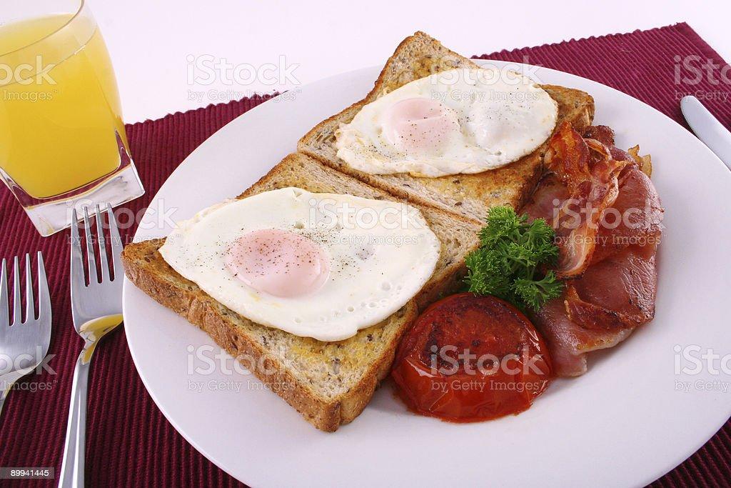 Big breakfast 1 royalty-free stock photo