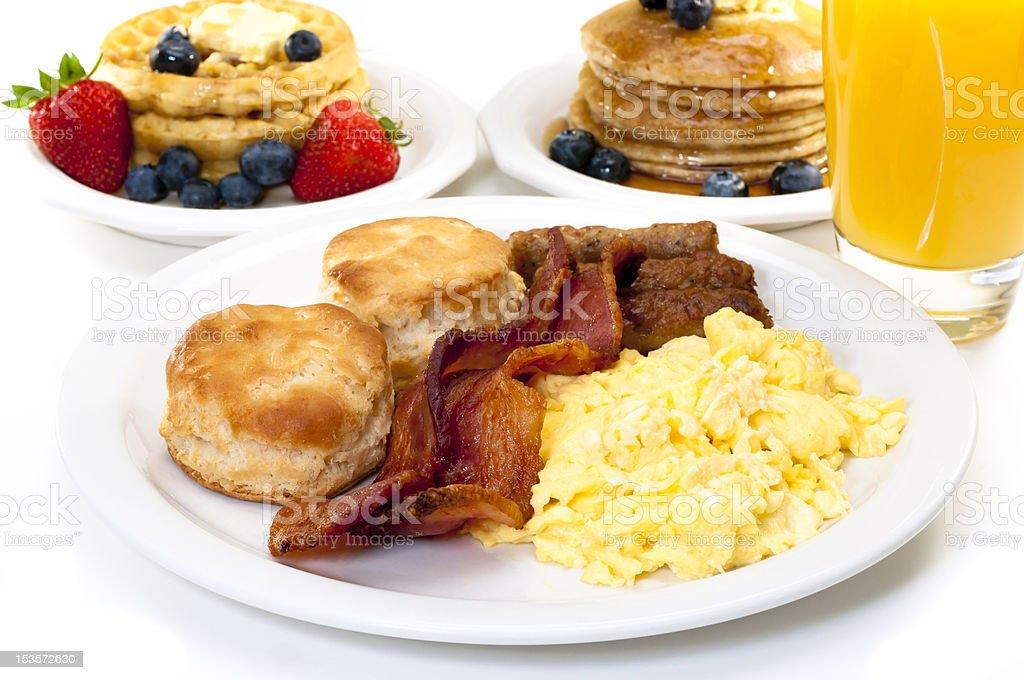 Big Breakfast stock photo