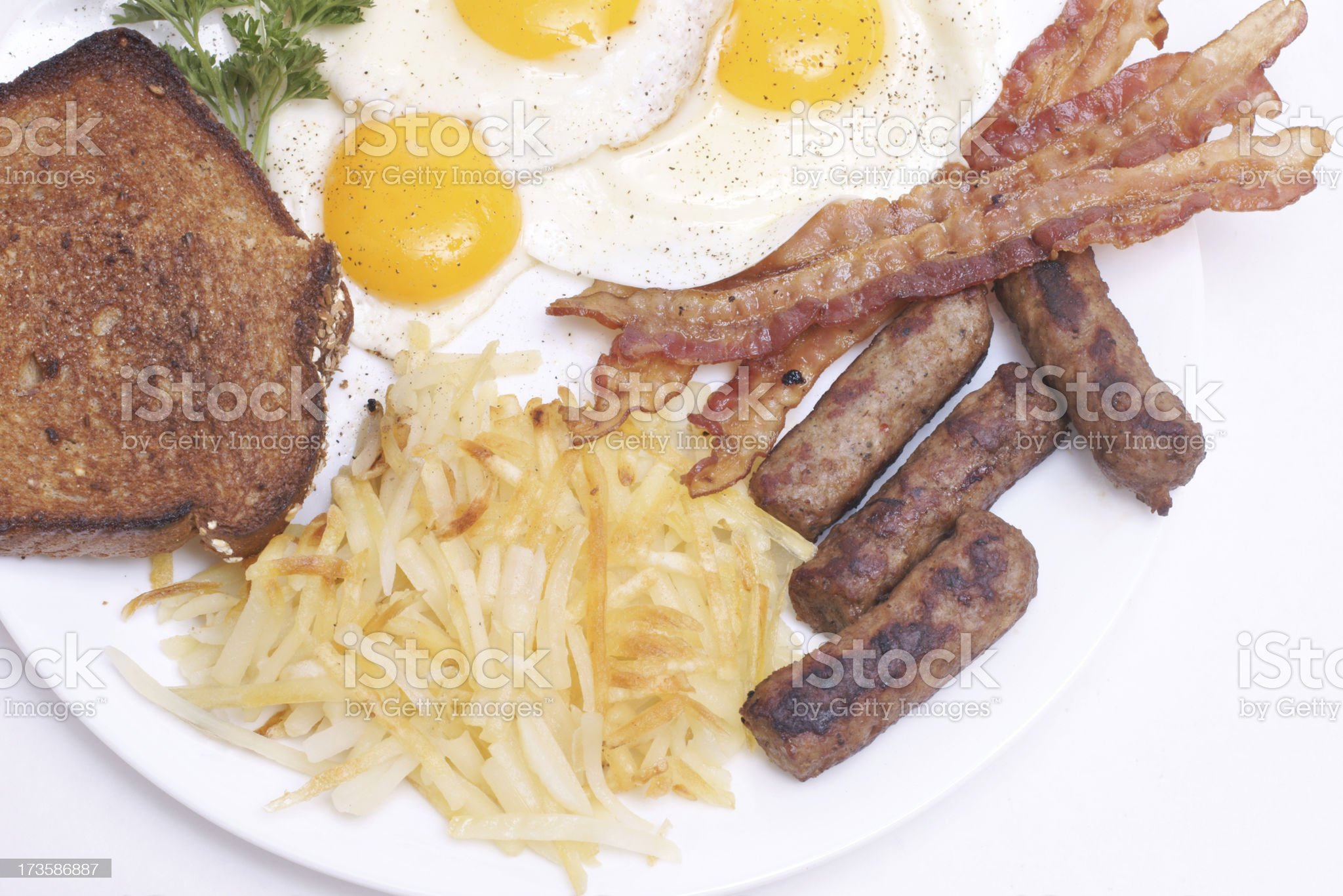 big breakfast royalty-free stock photo