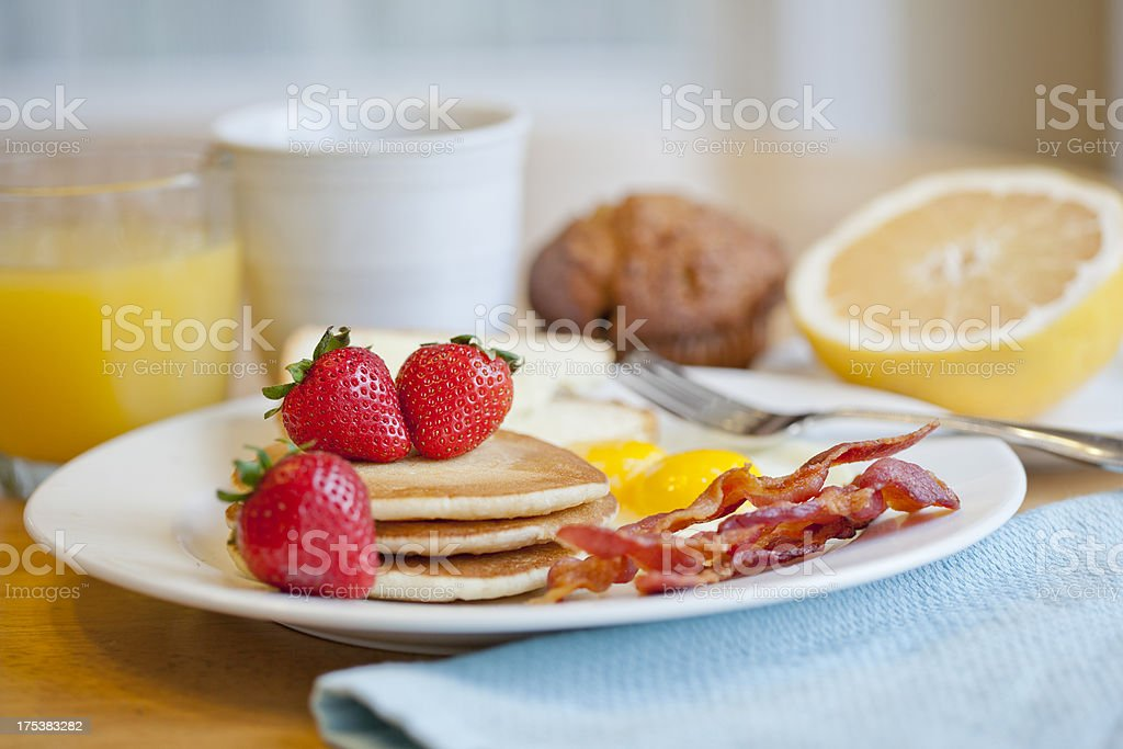 Big Breakfast royalty-free stock photo