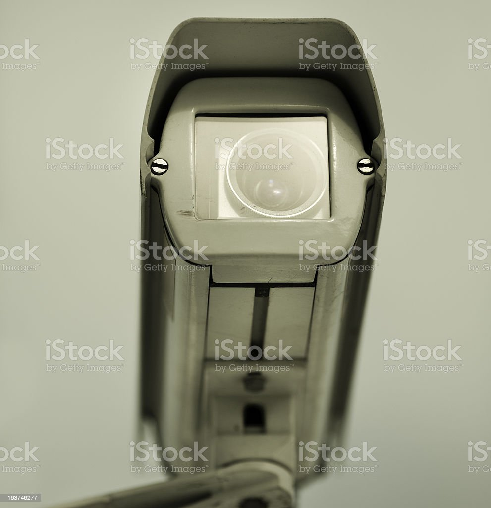 Big Brother concept royalty-free stock photo