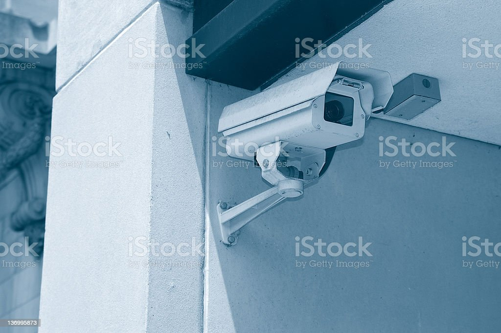 Big brother is watching royalty-free stock photo