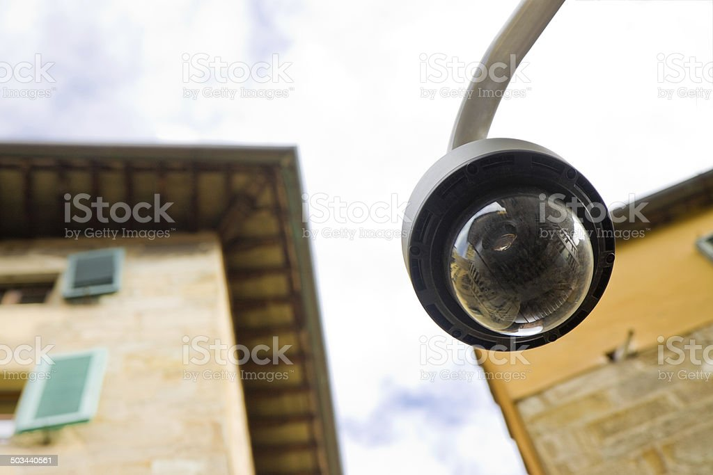 Big brother is watching you stock photo