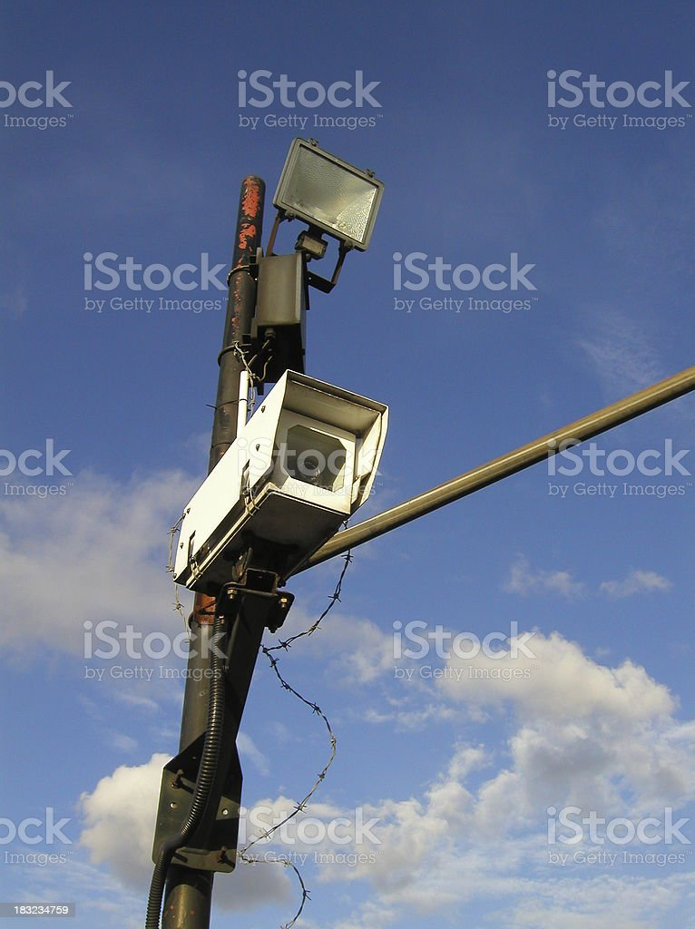 Big Brother - the surveillance society royalty-free stock photo