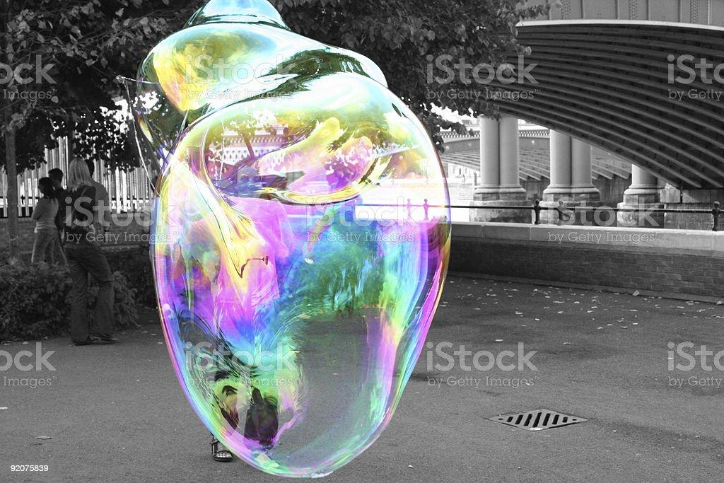Big-Blase of soap – Foto