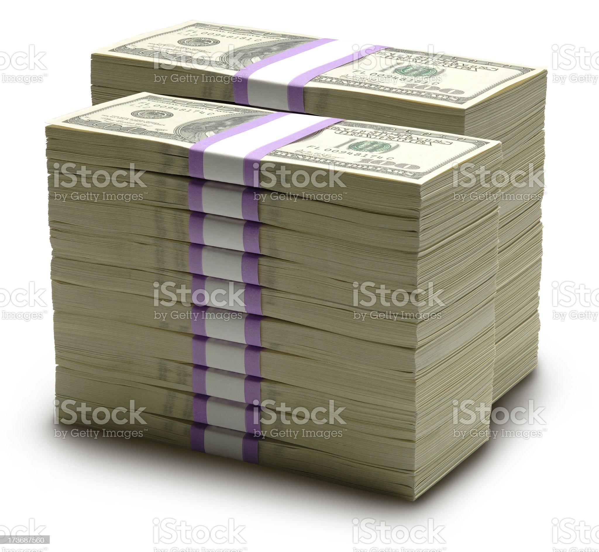 Big Bucks royalty-free stock photo