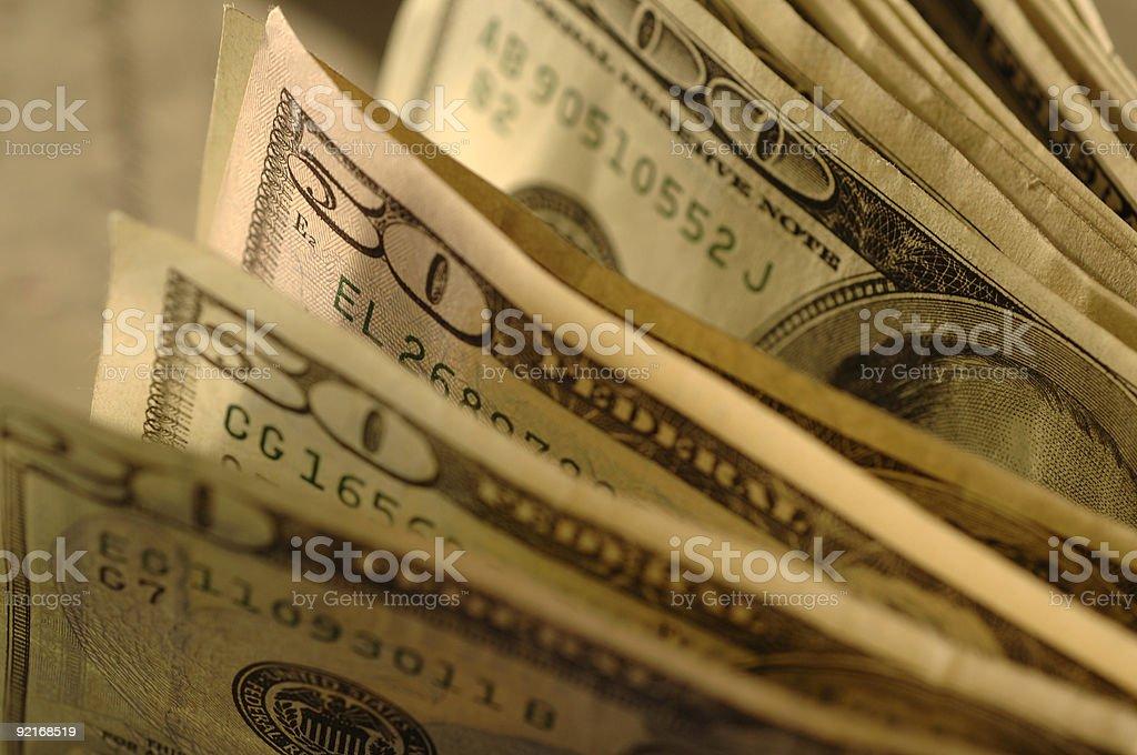 Big bucks foto de stock libre de derechos