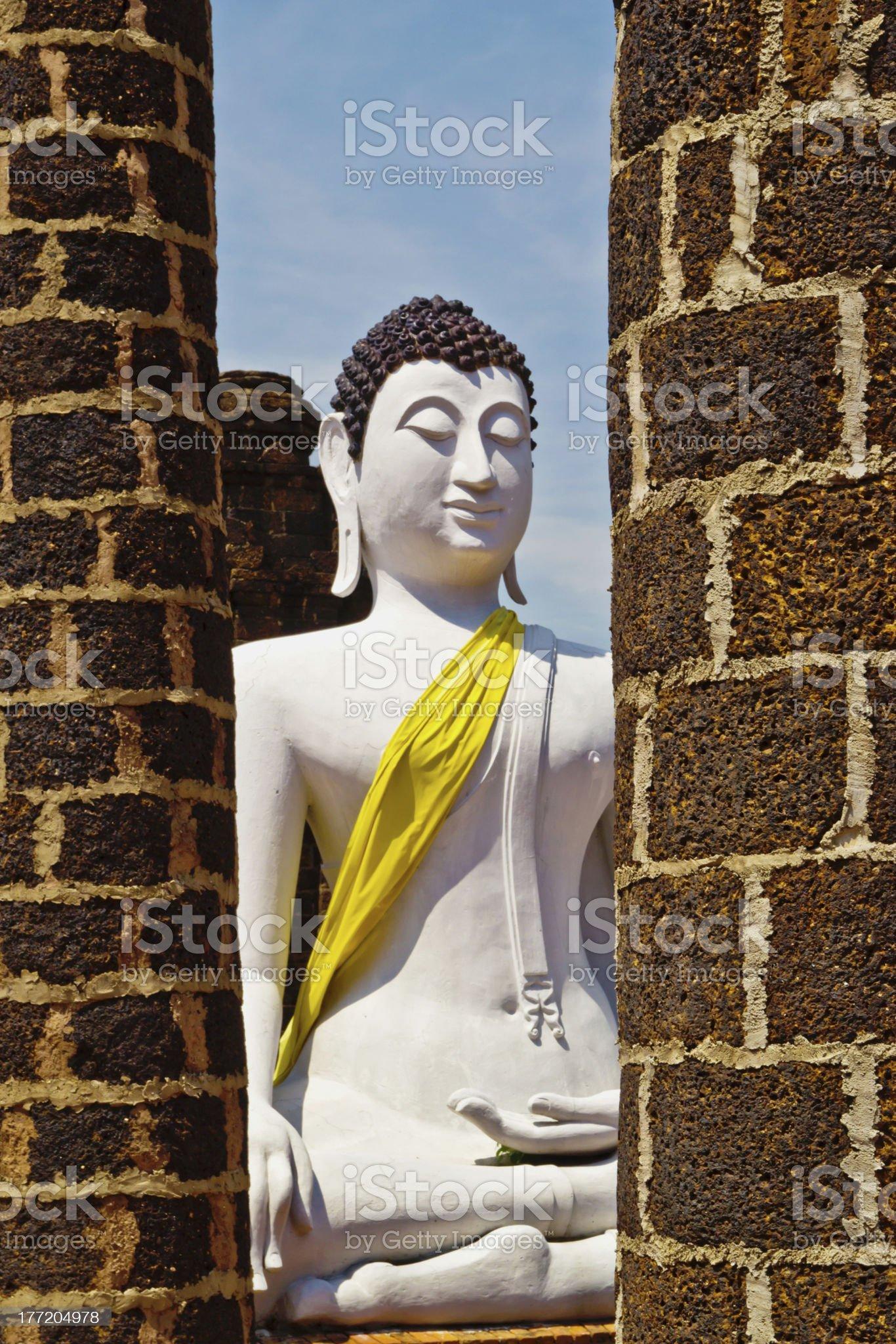 big buddha at thailand. royalty-free stock photo