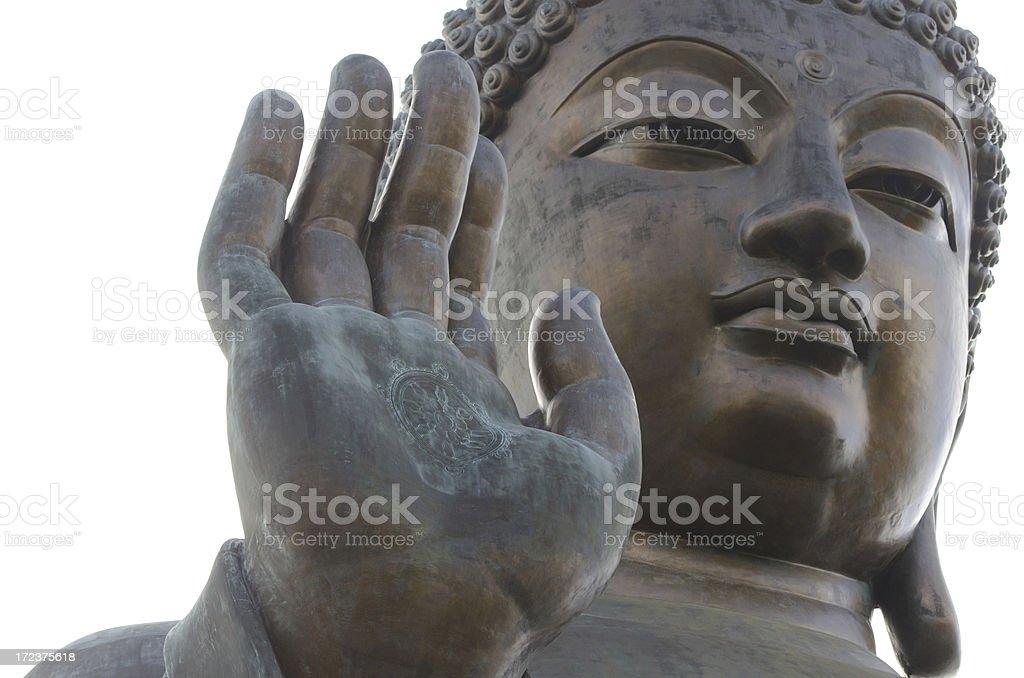 Big Buddha - Hong Kong royalty-free stock photo